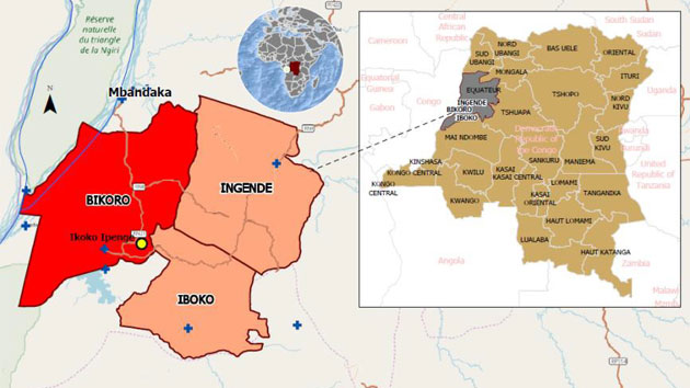 El ébola reaparece en la República Democrática del Congo