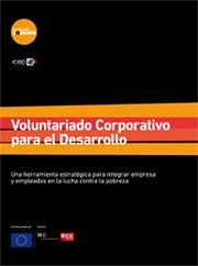 Portada libro Voluntariado Corporativo para el Desarrollo