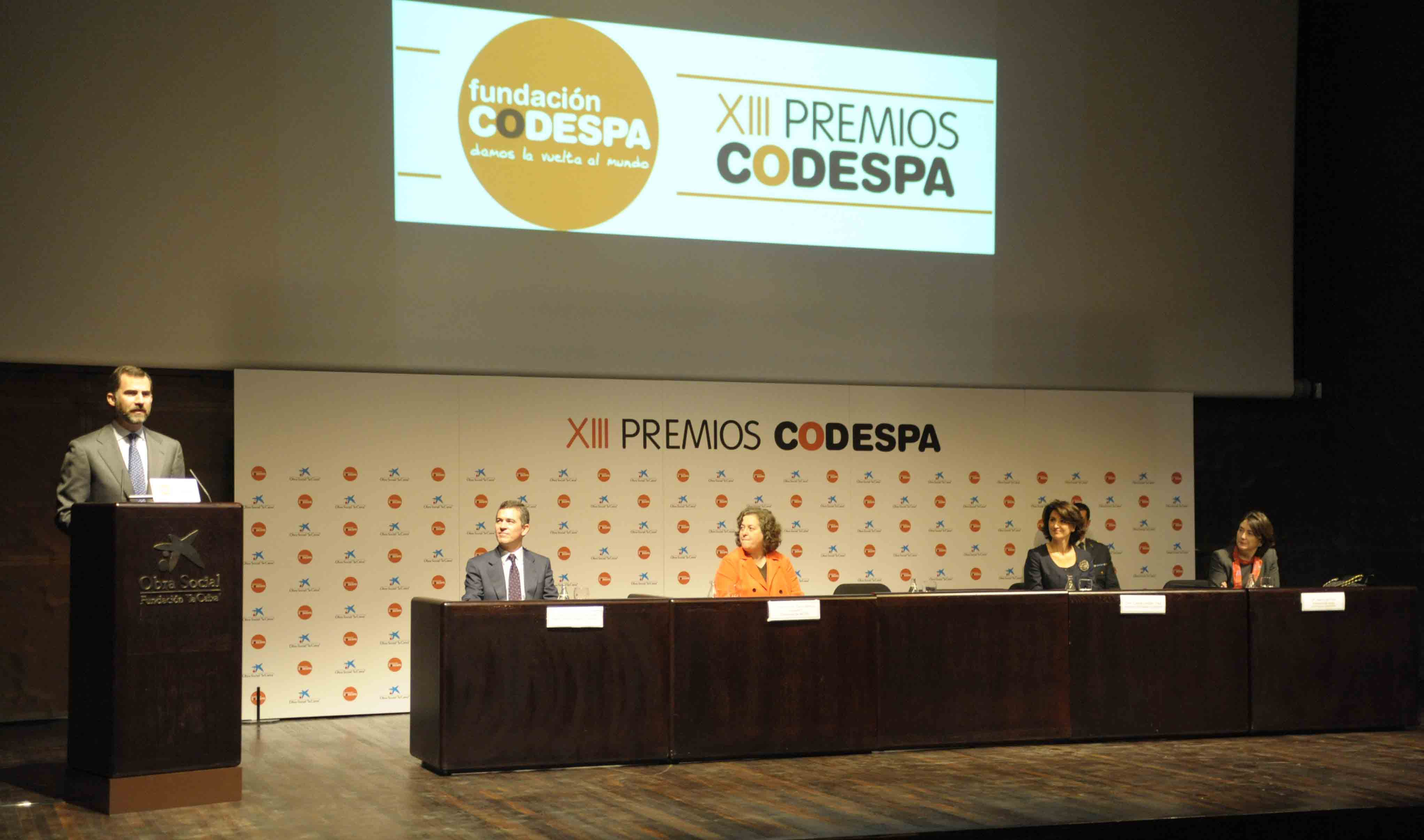 Entrega Premios CODESPA