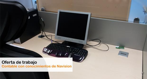 Oferta de trabajo como 'Contable con conocimientos de Navision'