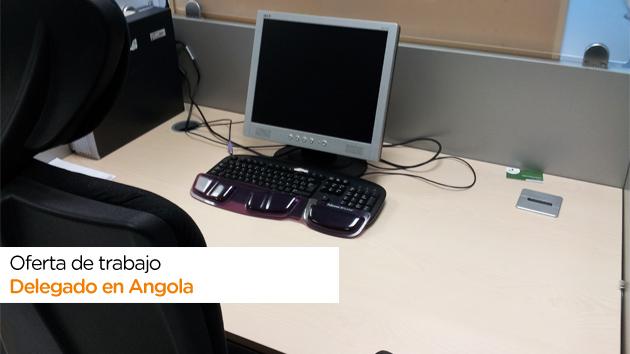 Oferta de trabajo como delegado de Angola