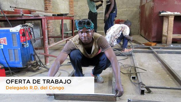 Oferta de trabajo como Delegado en R.D. del Congo