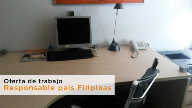 Oferta de trabajo como Representante país Filipinas