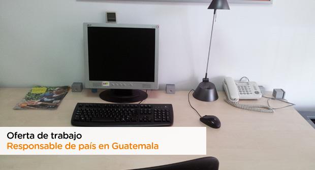 Oferta de trabajo como Responsable de país en Guatemala