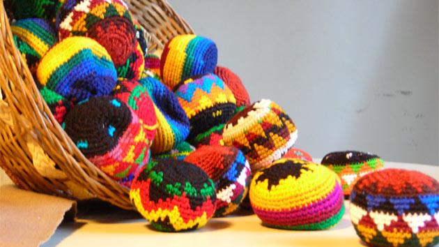 Exposición de artesanías jequies en Barcelona