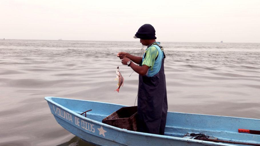 Pequeños pescadores luchan contra la pobreza en Esmeraldas