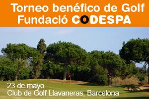 Torneo benéfico de Golf Fundació CODESPA