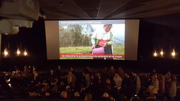 Preestreno de cine solidario: un éxito gracias a vosotros