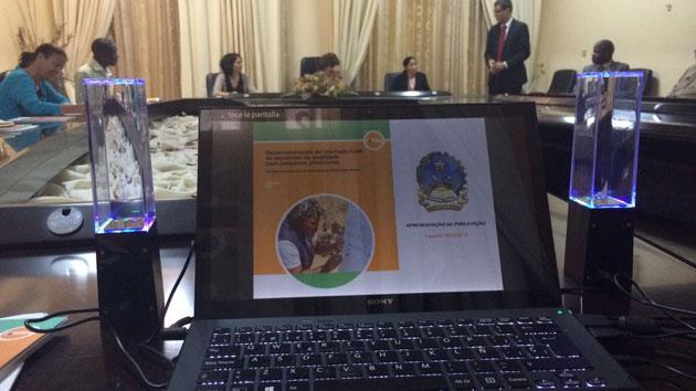 Presentamos nuestra experiencia en desarrollo rural en Angola