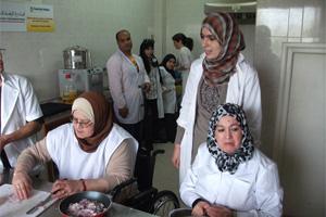 Promovemos la inserción laboral de personas discapacitadas en Marruecos