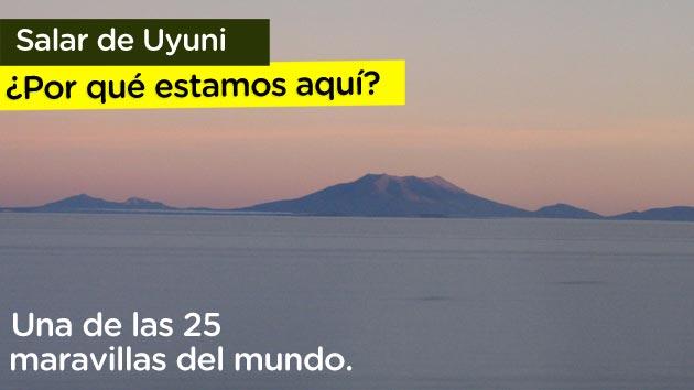 Salar de Uyuni, una maravilla natural en cualquier dirección