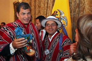 El presidente Rafael Correa asiste al VI Congreso estratégico del cooperativismo Latinoamericano