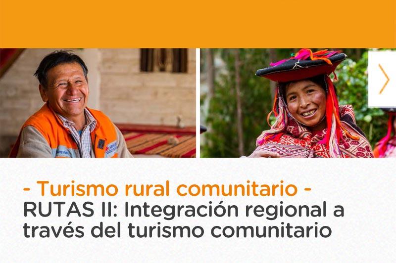 Integración regional a través del turismo comunitario