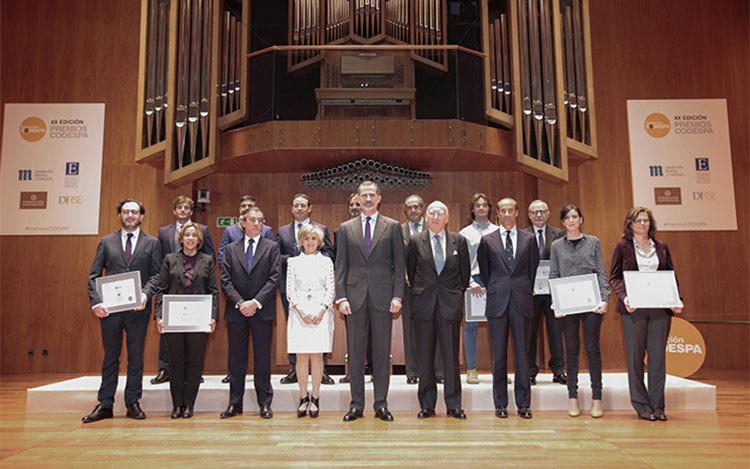Se entregan los galardones de la XX edición de los Premios CODESPA
