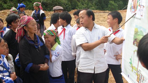 Reducimos en un 42% los casos de diarreas en 12.000 familias en Vietnam