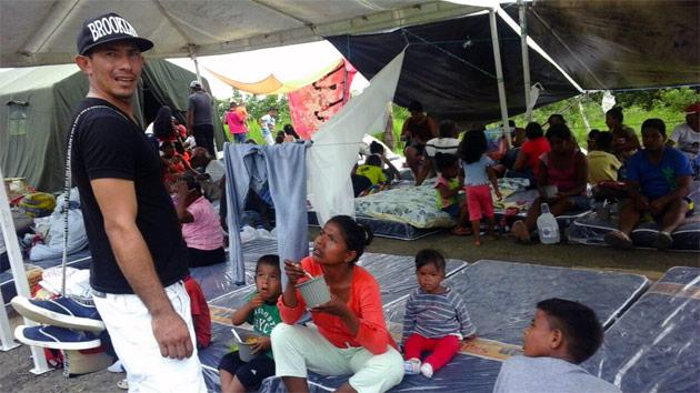 """""""El terremoto en Ecuador deja patente problemas de miseria e insalubridad muy grandes en la que viven sus habitantes"""""""