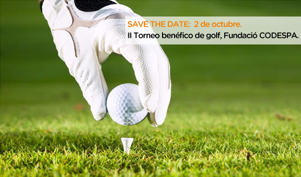 """Save the date"" II Torneo Benéfico de Golf"