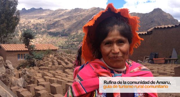 Rufina, una mirada positiva al futuro gracias al turismo rural comunitario