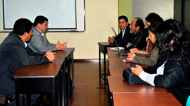 RENAFIPSE, socio local en Ecuador, recibe la visita del equipo evaluador de la AECID
