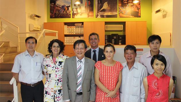 Nos visita una delegación del Ministerio de Agricultura y Desarrollo Rural de Vietnam