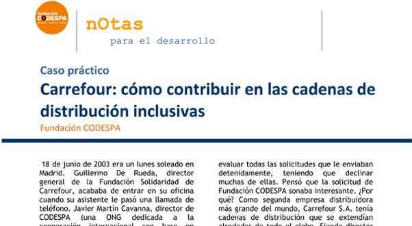 Voluntariado Corporativo Carrefour: cómo contribuir en las cadenas de distribución inclusivas