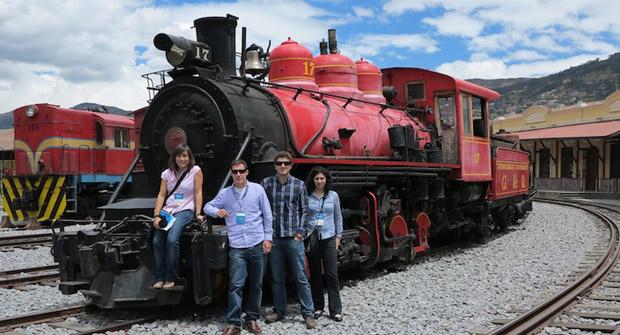 Voluntarios de INECO apoyan el proyecto de turismo rural comunitario en Ecuador