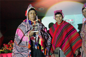 Tierra de los Yachaqs, operadora de turismo rural comunitario, premio Q'ente